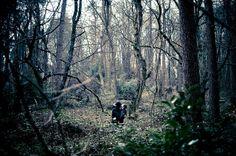 Photographer: Caroline Alexander www.caroline-alexander.com  Romantic Woodland Photo Shoot