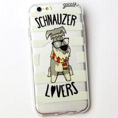Cellphone case Schnauzer Lovers https://womenslittletips.blogspot.com http://amzn.to/2lkg9Ua
