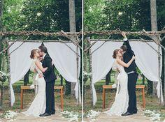 groom's ceremony excitement