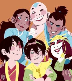 Team Avatar- credits to the artist