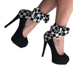 Checkmate! (Mom Only)...  Are you planning on paying some checkers? Get this pair to have the winning look!
