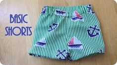 Nap Time Crafters: Basic Shorts Tutorial