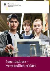 Titelseite der Broschüre Jugendschutz verständlich erklärt
