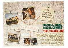 The Italian Job quad movie poster