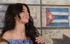 "Camila Cabello behind the scenes for the ""Hey Mama"" video shoot"