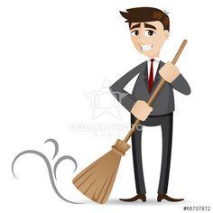 https://cz.dollarphotoclub.com/stock-photo/cartoon businessman cleaning with broom/66707872 Dollar Photo Club miliony kvalitních obrázků za 1$ za každý