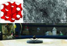 Eletrônica Alvorada : Um supercondutor que se constrói sozinho