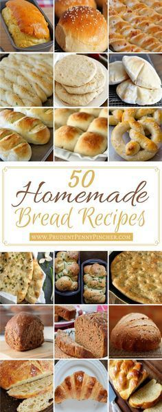 Not only is homemade bread SO MUCH MORE DELICIOUS than store-bought bread, it is also healthier and cheaper! Have you ever looked at the ingredients in store-bo