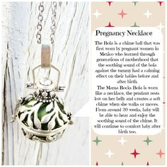 Only-Harmony Ball Bola Angel Caller Pregnancy Necklace Mexican Bola/Bola Ball/ Baby Shower Gift/ New Mom Gift/ Pregnancy Matern https://www.bowandarrowaccessory.com/