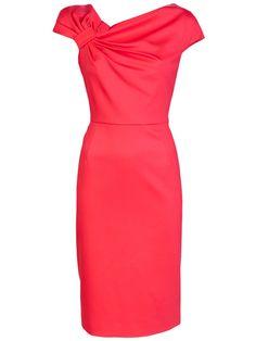 Bow shoulder dress