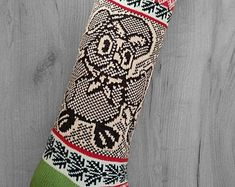 Knitted Christmas SocksChristmas GiftHoliday Decor от SELENMAR Christmas Knitting, Tattoos, Decor, Tatuajes, Decoration, Japanese Tattoos, Tattoo, Tattoo Illustration, Decorating