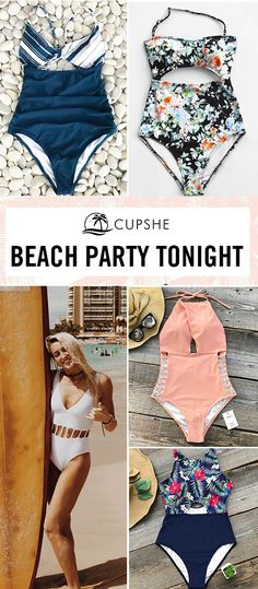 So let's have a Beach Party Tonight! Stay cozy & cute and wild & sexy with these bikini sets, featuring fresh colors and chic cut-out design. Go to the beach, dance around the campfire and leave behind a world of the inessentials. And leave yourself a hot memory.