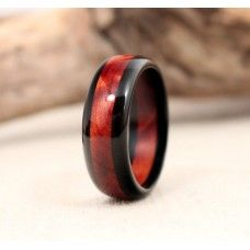 Ebony and Cedar Wooden Ring For $100.00