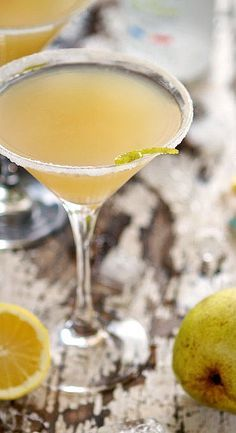 Blissful Pear Martini