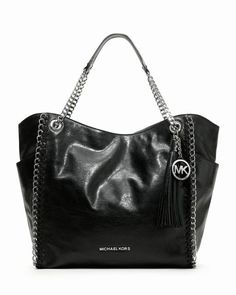 Michael Kors Große Chelsea Tote Schwarzes Lamm #fashionbag#jewellery|#jewellerydesign}