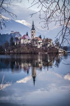 Slovenia, Lake Bled by; cpphotofinish, via Flickr