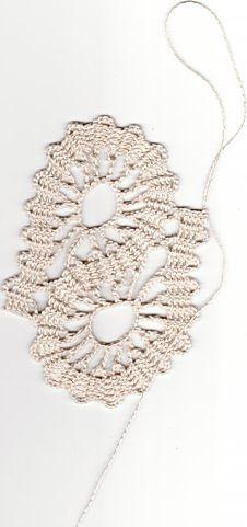 转载】比利时花边教程:布鲁日肚脐形成   + How to photo`s to crochet free pattern
