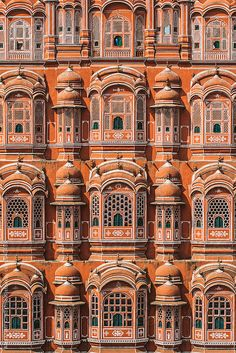 Hawa Mahal, Palace of Winds Jaipur, Rajasthan, India India Architecture, Ancient Greek Architecture, Cultural Architecture, Chinese Architecture, Architecture Design, Architecture Sketches, Gothic Architecture, Amazing India, Rajasthan India