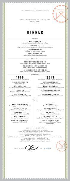 Print & Packaging / Mattei\'s Tavern