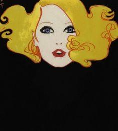 ♪ Arte d Rene Gruau Patrick Nagel, Arte Fashion, Rene Gruau, Jacques Fath, Guache, Pierre Balmain, Mellow Yellow, Marie Claire, Art Nouveau