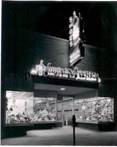 Love the old sign for Shield's Bootery Store in Urbana, Ohio, from 1956. From The Champaign County Historical Museum.