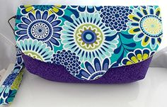 Spring Clutch Removable Key Strap >>> Be sure to check out this helpful article. #Handmadehandbags