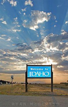 Welcome to Idaho! :-)