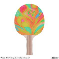 Visual Arts 841 Ping Pong Paddle