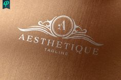 Ad: Aesthetique - Vintage Elegant Logo by PenPal on An Premium Logo Template have designed with fine attention to details. Suitable for any kind of business and personal branding which Graphic Design Software, Logo Design, Vintage Logo, Luxury Logo, Elegant Logo, Premium Logo, Creative Artwork, Kids Diet, How To Cook Steak