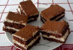 Érdekel a receptje? Kattints a képre! Hungarian Desserts, Hungarian Recipes, Hungarian Food, Cake Recipes, Dessert Recipes, Cold Desserts, Something Sweet, Cakes And More, Cake Cookies
