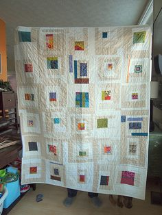 I like this idea for a quilt.
