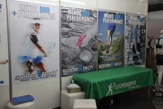 Stand SpiderTech na Expo Ironman