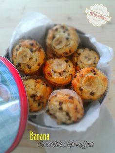 Kucina di Kiara: BANANA - chocolate chip muffins