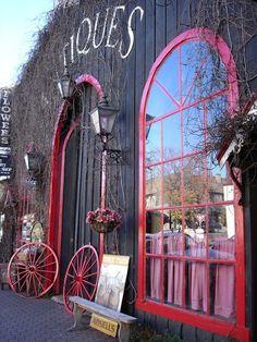 Antique shop #store #front