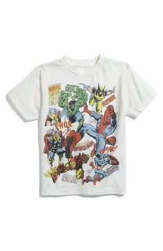 Marvel. I would love to have this t-shirt!