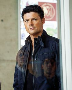 "Karl Urban International Tumblr - I am not sure if this is from the ""Perception"" or not, but who cares? Because *man*."