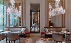 Baccarat hotel ,NY by Gilles&Boissier