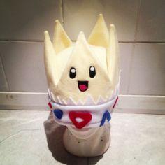 Handmade pokemon hat- Togepi
