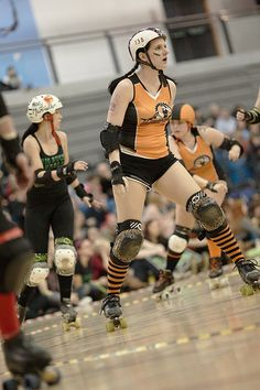 A blog dedicated to roller derby fitness? Yes please!
