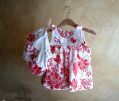 SET-Baby Girl Clothes-Cotton orange flowers Dress & Diaper Cover-Tunic and Bloomers-Newborn Clothes-Infant-Toddler-Flower Girl by PABUITA on Etsy https://www.etsy.com/listing/236749195/set-baby-girl-clothes-cotton-orange