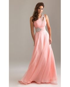 Elegant One Shoulder Formal Gown by Night Moves 6490 This would be soo pretty to wear to a ball(with a sweater) except i don't really think they do balls around here............