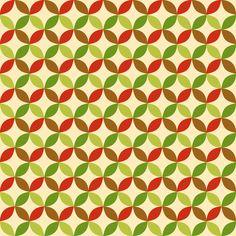 Geometric apples fabric by petitspixels on Spoonflower - custom fabric
