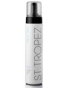 st. tropez...sunless tanner THE BEST. Streak free and TAN in an instant. Pricey but so worth it. Just ran out need to buy more.