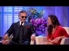 Alan Titchmarsh Interviews Andrea Bocelli and his wife & manager Veronica Berti - 25th Jan 2013
