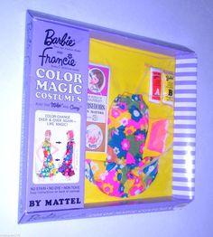 1967 Vintage Barbie Francie Color Magic Bloom Bursts Outfit 1778 NRFB Mint