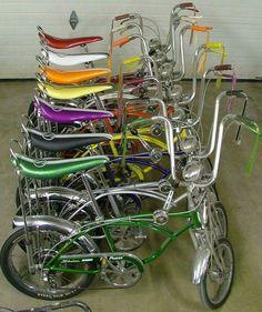 Thanks for the memories SCHWINN. Cool Bicycles, Cool Bikes, Retro Toys, Vintage Toys, 1970s Toys, 1960s, Vintage Stuff, Childhood Toys, Childhood Memories
