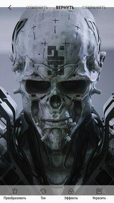 Arte Horror, Horror Art, Dark Fantasy Art, Dark Art, Cyberpunk Kunst, Character Art, Character Design, Arte Dc Comics, Skull Wallpaper