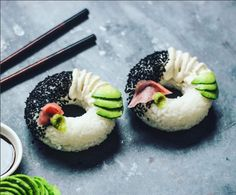 "The newest Internet food trend has arrived in the form of ""sushi donuts,"" an aesthetically perfect offering that is more appetizing than it sounds."