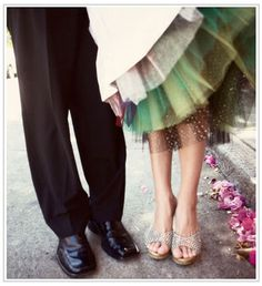 Would like to add color to my dress with a layer or layers underneath!  I would happily have a petticoat with 18 different colors in it.
