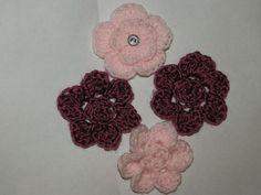 easy crochet 5 & 6 petal flowers!